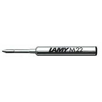 Lamy M 22 Broad Compact Ballpoint Pen Refill - Blue