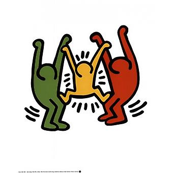 Untitled 1985 Poster Print by Keith Haring (16 x 20)