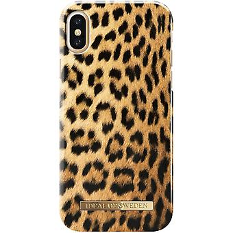 iDeal Of Sweden iPhone X / XS skal - Wild Leopard