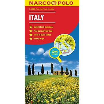 Italy Marco Polo Map by Marco Polo - 9783829767255 Book