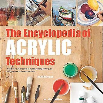 Encyklopædi af akryl teknikker: en unik visuel register af akryl maleteknikker, med vejledning om hvordan man bruger dem (2017 edition encyklopædier)