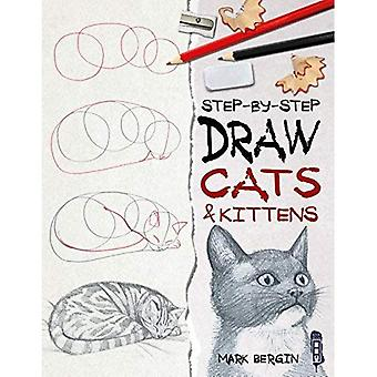 Draw Cats & Kittens (Step-By-Step)