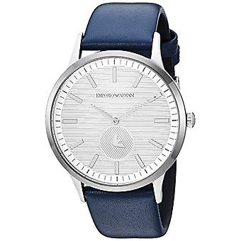 Emporio Armani men's Quartz Analog leather strap AR11119