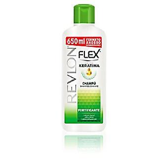 Revlon Flex styrkende Shampoo med Keratin til skrøbelige hår 650ml