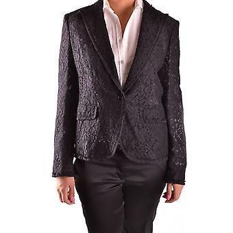 Dolce E Gabbana Ezbc006013 Damen's Schwarz Baumwolle Blazer