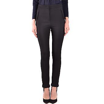 Moncler Ezbc014005 Women's Black Nylon Pants