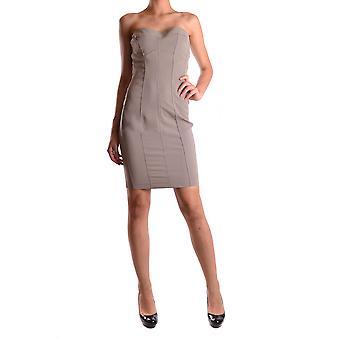 Twin-set Ezbc060014 Women's Beige Nylon Dress