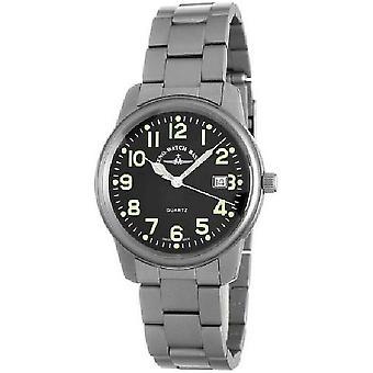 Zeno-watch mens watch of classic classic pilot quartz 7554Q-a1M