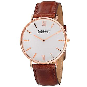 August Steiner Men's Classic Watch AS8166RGBR