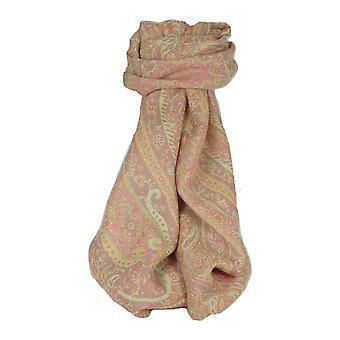 Schalldämpfer Schal 6823 in Fine Pashmina Wolle Heritage Range von Pashmina & Seide