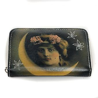 Disaster Designs Vintage Moon Lady Purse