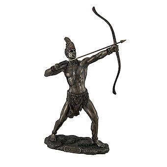 Hylarana Finish Ochosi goddelijke Hunter Orisha standbeeld