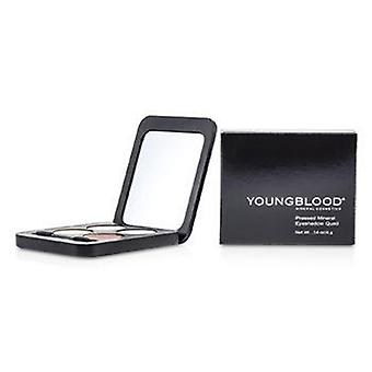 Youngblood tryckte Mineral ögonskugga Quad - Eternit - 4g / 0.14 oz