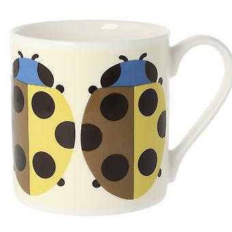 Orla Kiely Lady Bug Nutmeg Large Mug