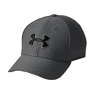 Under Armour Blitzing 3.0 Kids Stretch Fit Baseball Cap Hat Grey