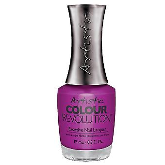 Artistic Colour Revolution Professional Reactive Hybrid Nail Lacquers - Hear Me Roar 15ml (2303170)