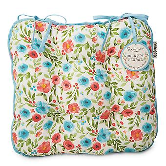 Cooksmart Country Floral Seat Pad