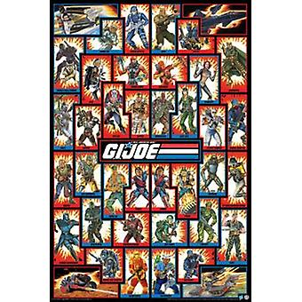 Poster - G.I. Joe - Cast Team Group Wall Art Licensed Gifts Toys 241268