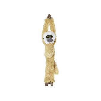 Hanging 19-inch Gibbon (Light Brown)