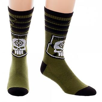 Crew Sock - Suicide Squad - Taskforce X New Licensed cr48gqssq