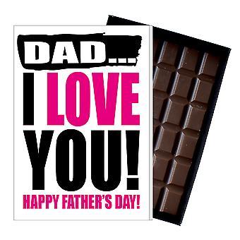Śmieszne ojciec ' s dzień prezent głupie czekolada obecny rude karty dla tata DADIYF107