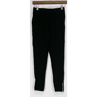 Slimming Options For Kate & Mallory Leggings w/ Zipper Black A417363