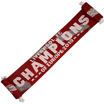 Liverpool F.C. Scarf Champions of Europe RG