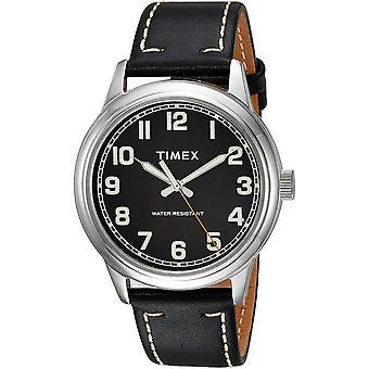 Timex New England Cuir Hommes Montre TW2R22800