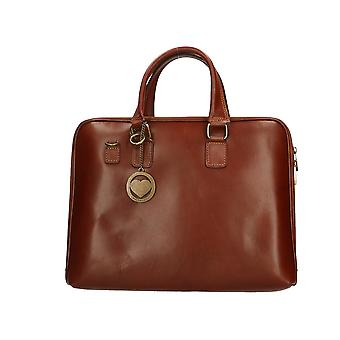 Handväska i läder P9033