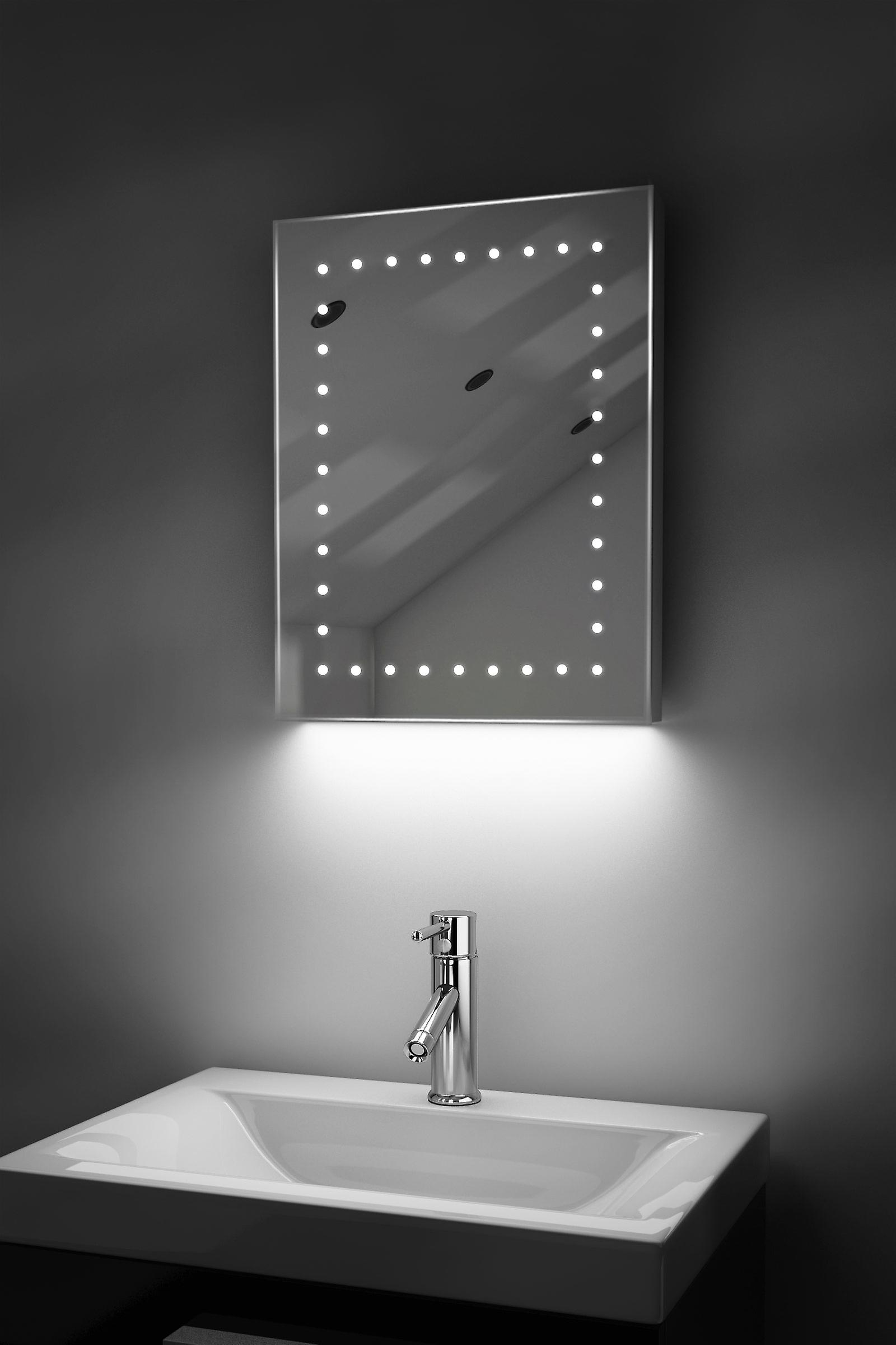 Ambient Ultra-Slim LED Mirror With Demister Pad & Sensor K162T