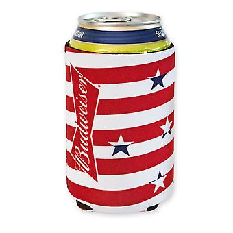 Budweiser Stars And Stripes Can Cooler