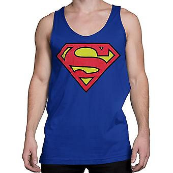 Superman Symbol Royal Blue Men's Tank Top