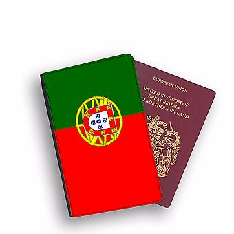 PORTUGAL Flag Passport Holder Style Case Cover Protective Wallet Flags design