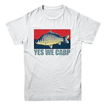 Official Hooked-Fishing T-Shirt - Yes We Carp