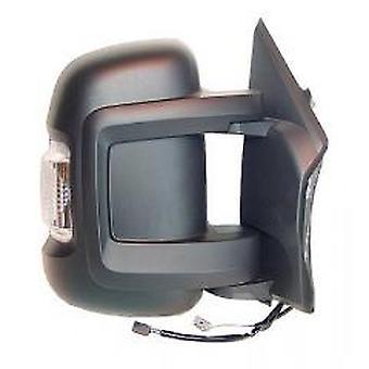 Miroir droit (indicateur 5W, capteur temporaire) Pour Citroen RELAY Van, 2006-2017