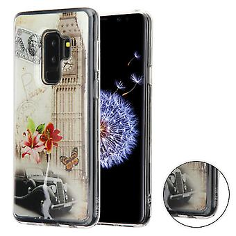 MYBAT Big Ben (Transparent Clear) Krystal Gel Series Candy Skin Cover pour Galaxy S9 Plus