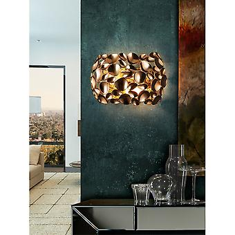 Schuller Narisa Wall Lamp 2L Dual Light Gold Plated