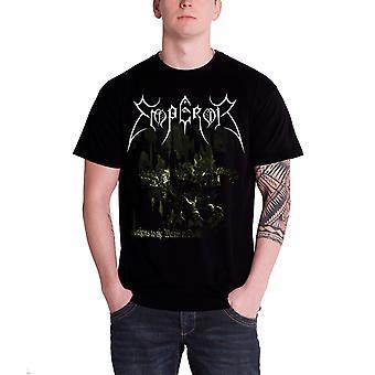 Keizer T Shirt Anthems 2014 Band Logo ambtenaar Mens nieuwe zwart