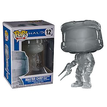 Halo Master Chief w/Energy Sword w/ Active Camo US Pop!
