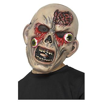 Boys Monster Bulging Eye Face Mask Fancy Dress Accessory