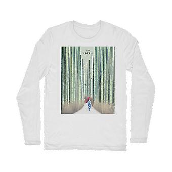 京都市 (Kyoto) klassiek t-shirt met lange mouwen