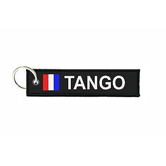 Dørkapper kaster flag kodesignaler signal maritime alfabet T TANGO