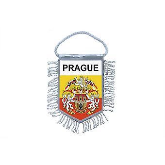 Flag Mini Flag Country Car Decoration Souvenir Blason Prague Czech