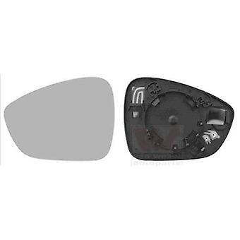 Left Mirror Glass (Heated) & holder For Citroen C4 Grand Picasso mk2 2013-2018