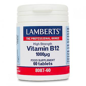 Lamberts Vitamin B12 1000iu Tablets 60 (8087-60)