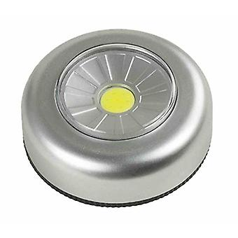 Arcas Push Light COB LED + 3X Batterie AAA