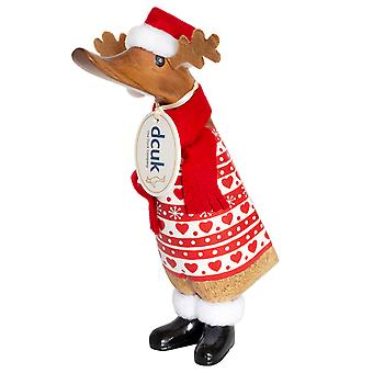 DCUK Santa Duckling Red Reindeer Knit Jumper