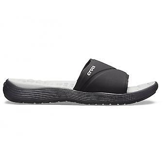 Crocs 205474 Reviva Slide naisten Slide Sandaalit musta