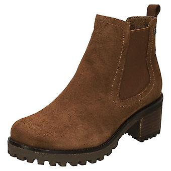 Carmela Suede Leather Chelsea Ankle Boots 66922