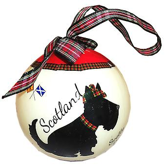 Samle en bauble Scottie hund